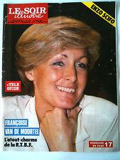 Le Soir illustré du 15/08/1985  Françoise Van De Moortel/ Redu/ Camargue