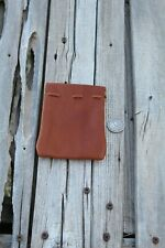 Leather coin pouch , Leather coin purse