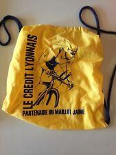 SAC PROMO CREDIT LYONNAIS PARTENAIRE DU MAILLOT JAUNE - TOUR DE FRANCE