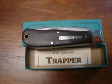 Vintage 1989 Remington Trapper Bullet Knife R1128 New in Box Made in USA