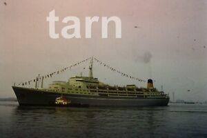 35mm slide Shipping scene Cruise ship Northern Star Southampton 1960s r180