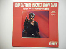"""MAXI 12"""" ▒ COBRA (STALLONE FILM) / VOICE OF AMERICA'S SONG by JOHN CAFFERTY"""