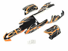 1/5 King Motor Painted Buggy Body Kit Fit KM HPI Baja 5B SS Rovan Wild Orange