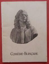 Programme Théâtre COMEDIE-FRANCAISE Madame Sans-Gêne 1938 *