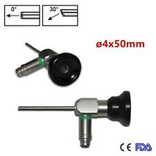 0°/30° Medical Endoscope ø4x50mm Otoscope Auriscope Ear Mirror Speculum ENT A++