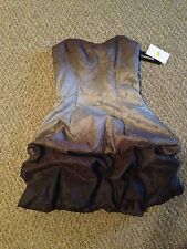 Short Formal Purple Ombre Dress Size 7 NWT