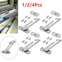 UPVC Security Window Restrictor Child Baby Safety Lock Catch Door Ventilator