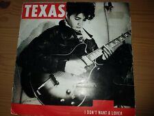 "TEXAS - I Don't Want A Lover - Deleted 1989 UK 2-track vinyl 7"" Vinyl Single"