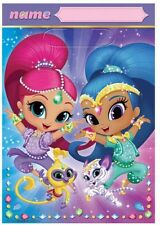 8 Shimmer and Shine Birthday Party Loot Favour Bags