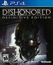 PS4 Dishonored: Definitive Edition (Sony PlayStation 4, 2015)