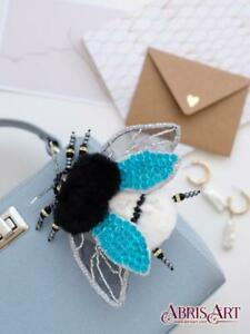Fluffy Dream brooch bead embroidery kit *** Free Shipping