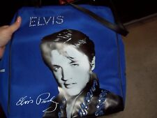 ELVIS PRESLEY BLUE CARRY ON/TOTE BAG WITH SEQUINS - NEW