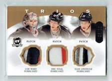 13-14 UD The Cup Trios  Cam Ward--Eric Staal--Elias Lindholm  /10  Patches