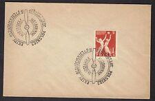 1956 Poland Poczta Polska Warszawa Olimpliskiej Olympic FDC