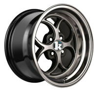 16x9 Bronze Wheel Klutch SL2 4x100 15