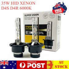 2X D4S D4R 6000K Globes Xenon HID Headlight Bulbs Replace for Philips for Osram