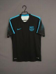 Barcelona Jersey Training MEDIUM Shirt Mens Camiseta Soccer Nike 686641-013 ig93