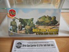Modelkit Airfix Bren Gun Carrier & 6PDR Anti Tank Gun on 1:76 in Box