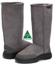 New Tall Long Hiking Outdoor  Sole Ugg Boots Australian Made Sheepskin 13 colors