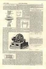 1894 Gisbert Kapp Alternator Drawing Office And Shop Relationship