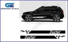 1 Paar DACIA DUSTER - Auto Seiten Aufkleber - Sticker - Decal - Car !<>!
