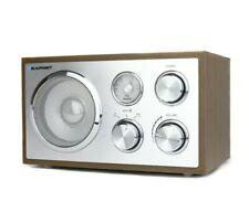 Blaupunkt Küchenradio Nostalgie Retro Radio Holzgehäuse Bluetooth AUX UKW Braun