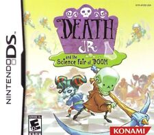 Death Jr. and the Science Fair of Doom (2007) Brand New Factory Sealed USA NDS