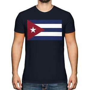 CUBA SCRIBBLE FLAG MENS T-SHIRT TEE TOP GIFT CUBAN FOOTBALL
