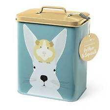 Burgon and Ball Animal Creatureware Pet Tin Enamel Storage Cannister Home Gift Arthur & Squeak Rabbit Guinea Pig Piggies