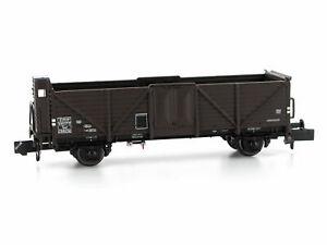 MU N-G34009 - Güterwagen Omm 34 Towf SNCF mit Bremserhaus Ep.III - Spur N - NEU