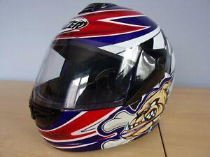 Helmet Lazer LZ6 Speeddog Motorcycle Helmet Bulldog Graphics Small 55 to 56 cm