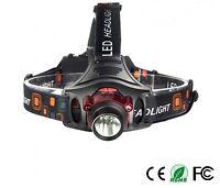 Mini IR Infrared Sensor Headlamp 10W CREE XML-T6 LED 3*AA or 2*18650 Battery