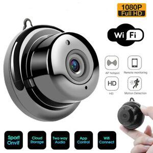 Mini Wifi IP Camera HD 1080P Wireless Night vision V380 Audio Home Security Cam