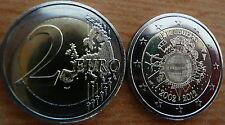 Luxemburgo 10 años euro efectivo sello brillo unzirkuliert 2012 rar nuevo de papel