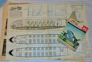 VTG 1970 SOVIET BUILT DOUGLAS Li-2 (DC-3) MODEL PLANS! BLUEPRINTS/PICTURES/SPECS