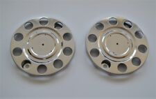 """22.5"""" STAINLESS STEEL OUTER WHEEL TRIMS COVERS 10 STUDS FOR SCANIA VOLVO MAN DAF"""