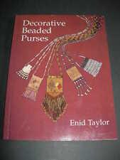 Carteras con cuentas decorativas Maestro Artesano libro Taylor Joyería Bolsas de proyectos