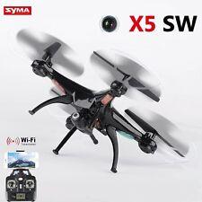 Syma X5SW 2Gyro 4CH 6-Axis WiFi Quadcopter RC Drone + HD Camera Black New