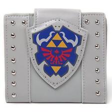 Legend Of Zelda - Zelda Link Shield Tri-Fold Vinyl Wallet - New & Official