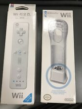2009 wii motion plus NIB  & 2010 Wii Remote Controller Korean new in opened box
