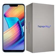 "New 6.3"" Honor Play Dual/Hybrid-SIM 64GB Navy Blue Factory Unlocked 4G Simfree"