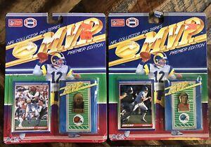 Vintage 1990 Ace M.V.P. John Elway Boomer Esiason NFL Collector Pin Series