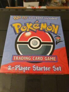 Pokémon TCG 2-Player Starter Set W CD-ROM Selaed