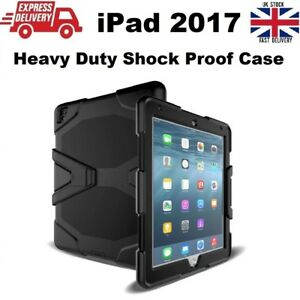 Tough Military Heavy Duty Silicone Rubber Case for iPad 2017 (5th Generation)