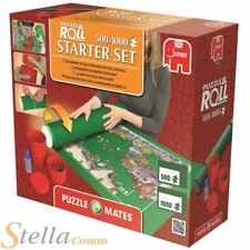 Puzzle Mates 1000Pc Jigsaw Roll Mat Starter Set Fixing Ahesive & Sorting Pots