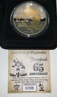 NEW Disneyland 65th Anniversary Commemorative Limited Edition 1955 Coin 398/6500