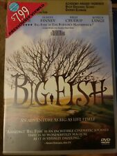 Big Fish Dvd Tim Burton Ewan McGregor