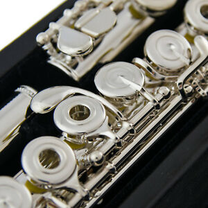 Sankyo Model 201 Flute | B-Foot | Open Holes | E-Mechanism | Offset G