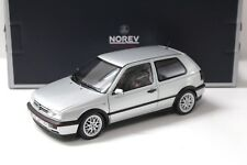 "1:18 Norev VW Golf 3 III GTI 1996"" 20 ans ""Silver New chez Premium-modelcars"