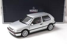 "1:18 Norev VW Golf 3 III GTI 1996 ""20 JAHRE"" silver NEW bei PREMIUM-MODELCARS"